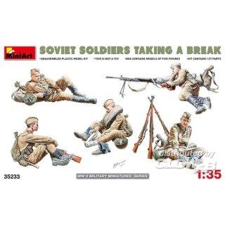 1:35 Soviet Soldiers Taking a Break