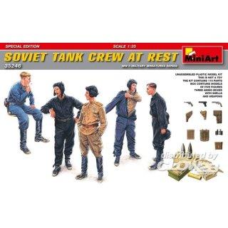 1:35 Soviet Tank Crew at Rest.Special Edition