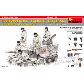 1:35 German Tank Crew (Winter Uniforms)Specia Edition
