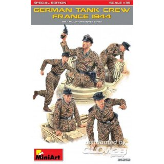 1:35 German Tank Crew (France 1944) Special Edition