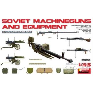 1:35 Soviet Machineguns & Equipment