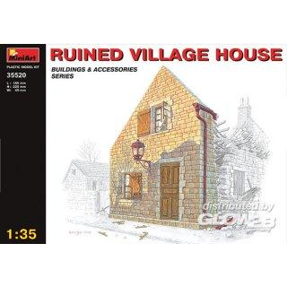 1:35 Dorfhausruine