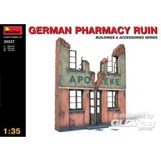 1:35 Deutsche Apothekenruine