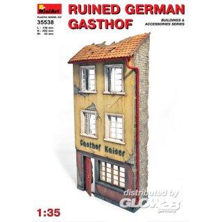 """1:35 Deutsche """"Gasthof"""" Ruine"""