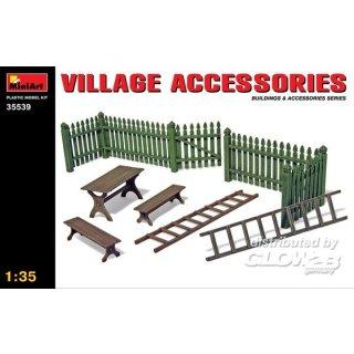 1:35 Village Accessories