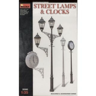 1:35 Street Lamps & Clocks