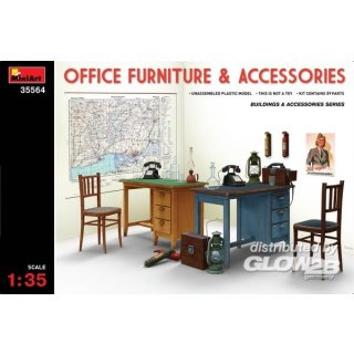 1:35 Office Furniture & Accessories