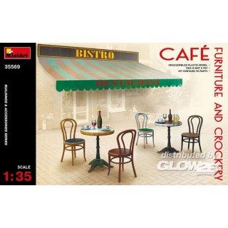 1:35 Café Furniture & Crockery