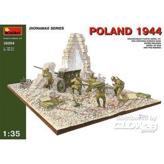 1:35 Polen 1944 mit Russischer Artillerie