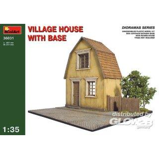 1:35 Dorfhaus mit Grundplatte