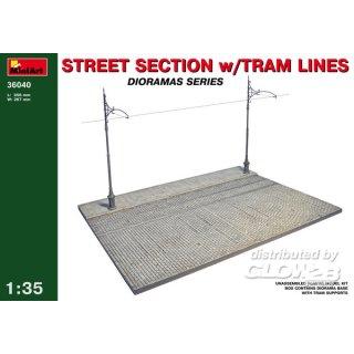 1:35 Street Section w/Tram Line