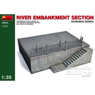 1:35 River Embankment Section...