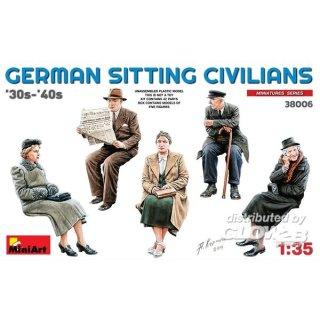 1:35 German Sitting Civilians30s-40s