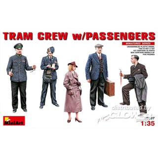 1:35 Tram Crew with Passengers