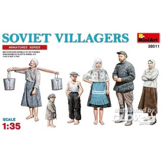 1:35 Soviet Villagers