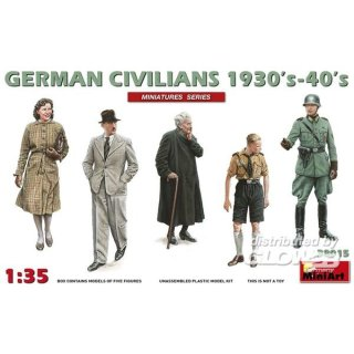 1:35 German Civilians 1930-40s