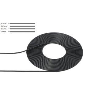 1:6/1:12/0,80mm Kabel/Schlauch 2m