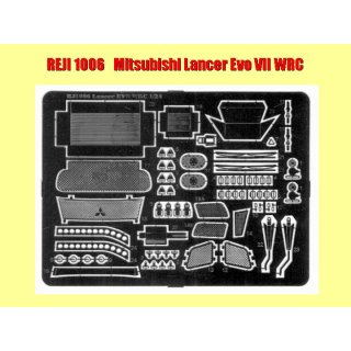 1:24 Fotoätzteile Misubishi Lancer EVO VII WRC