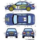 Decal Subaru Impreza WRX Australien 2002