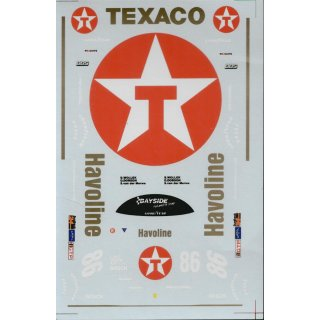Decal  962  Texaco n°86