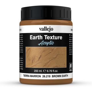 Earth Texture - Brown Earth (200ml)