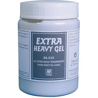 Extra Heavy Gel Transparent (200ml)