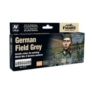 Farbset, Deutsches Uniform-Grau, WWII, (8 x 17ml)