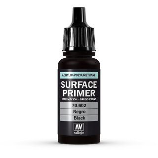 Primer Negro  Acrylic-Polyurethane 17 ml