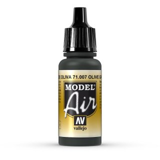olive green 17ml, Acryl-Farbe
