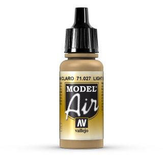 Light Brown 17ml, Acryl-Farbe