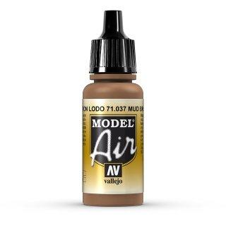 RAL8008 Mud brown 17ml, Acryl-Farbe