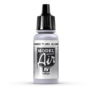 RAL9006  17ml, Acryl-Farbe aluminium metallic