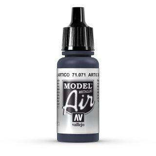 17ml, Acryl-Farbe artikblau metallic