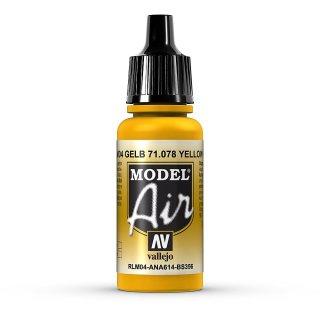17ml, Acryl-Farbe goldgelb