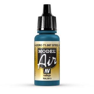 17ml, Acryl-Farbe stahlblau