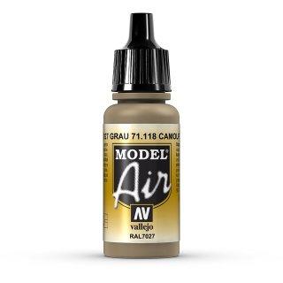 RAL7027 grau 17ml, Acryl-Farbe