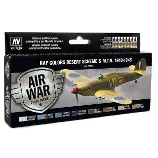 Farbset, RAF Wüstentarnung, WWII, (8 x 17ml)