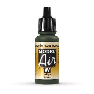 RLM80 - Olivgrün  17ml, Acryl-Farbe
