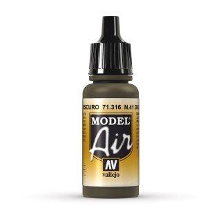 N41 DK. Olive Drab 17ml, Acryl-Farbe