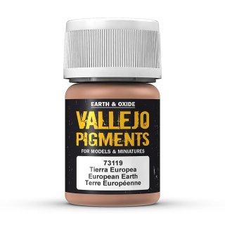 Pigmente , European Earth, 30ml