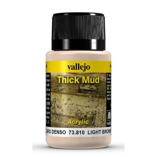 Weathering Effects - Thick Mud Light Brown, 40ml