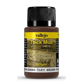 Weathering Effects - Thick Mud  Brown, 40ml