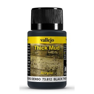Weathering Effects - Thick Mud  Black, 40ml
