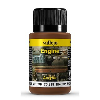 Weathering Effects - Engine Brown Engine Soot, 40ml