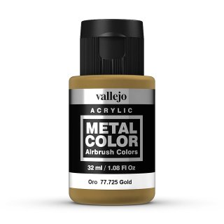 Metal Color 725 - Gold, 32ml
