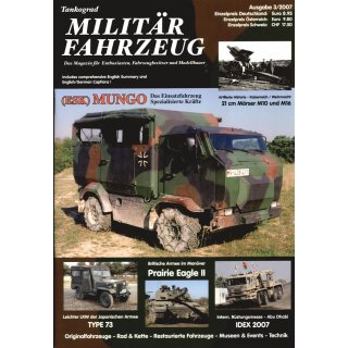 Militär-Fahrzeug Magazin 03/2007