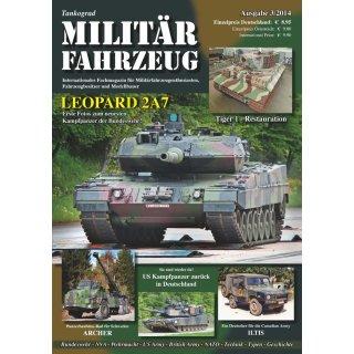 Militär-Fahrzeug Magazin 03/2014