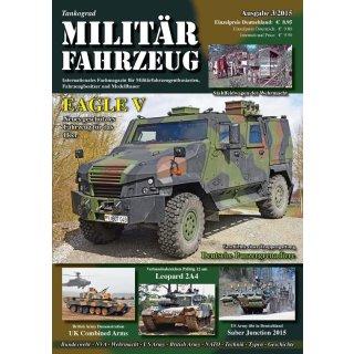 Militär-Fahrzeug Magazin 03/2015