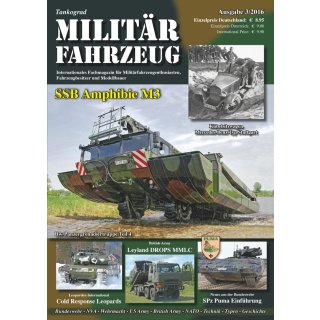 Militär-Fahrzeug Magazin 03/2016