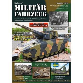 Militär-Fahrzeug Magazin 04/2016